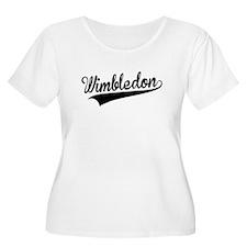Wimbledon, Retro, Plus Size T-Shirt