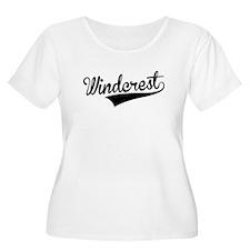 Windcrest, Retro, Plus Size T-Shirt