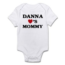 Danna loves mommy Infant Bodysuit