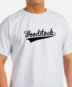 Woodstock, Retro, T-Shirt