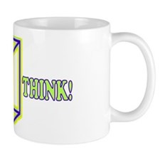 Funny Think Outside the Box Rebus Mug
