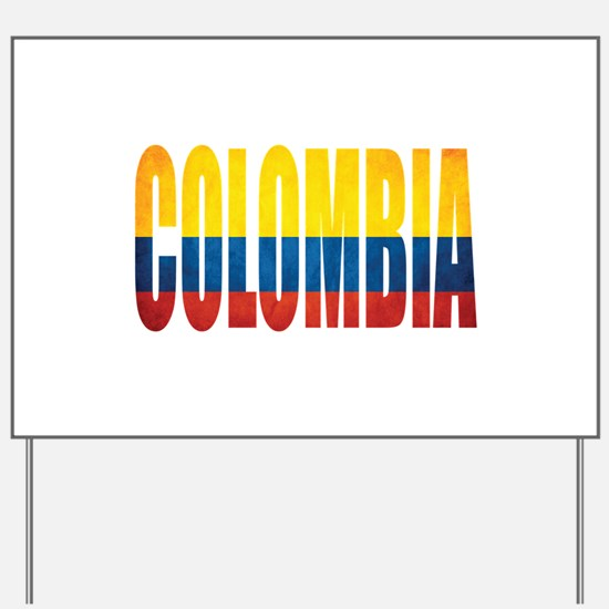 Colombia Yard Sign