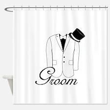 Groom Shower Curtain