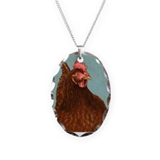 Rhode Island Red Necklace