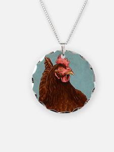 Rhode Island Red Necklace