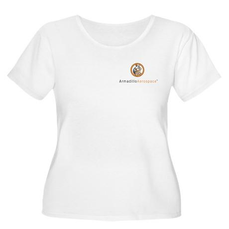 Armadillo Aerospace Women's Plus Size Scoop Neck T