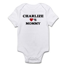Charlize loves mommy Onesie