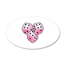Bunco Breast Cancer Wall Decal