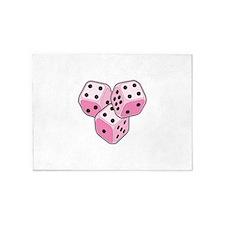Bunco Breast Cancer 5'x7'Area Rug