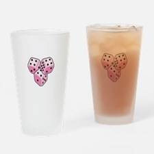 Bunco Breast Cancer Drinking Glass