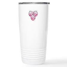 Bunco Breast Cancer Travel Mug
