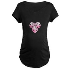 Bunco Breast Cancer Maternity T-Shirt