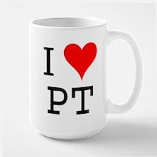 I Love PT Mug