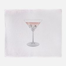 Bunco Martini Throw Blanket