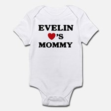 Evelin loves mommy Infant Bodysuit