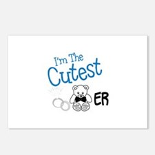 I M The Cutest Bear Postcards (Package of 8)