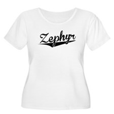 Zephyr, Retro, Plus Size T-Shirt