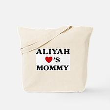 Aliyah loves mommy Tote Bag