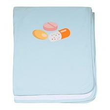 Medicine Pills baby blanket