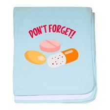 DONT FORGET! baby blanket