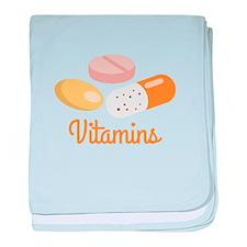 Vitamins baby blanket