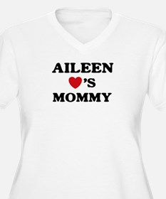 Aileen loves mommy T-Shirt