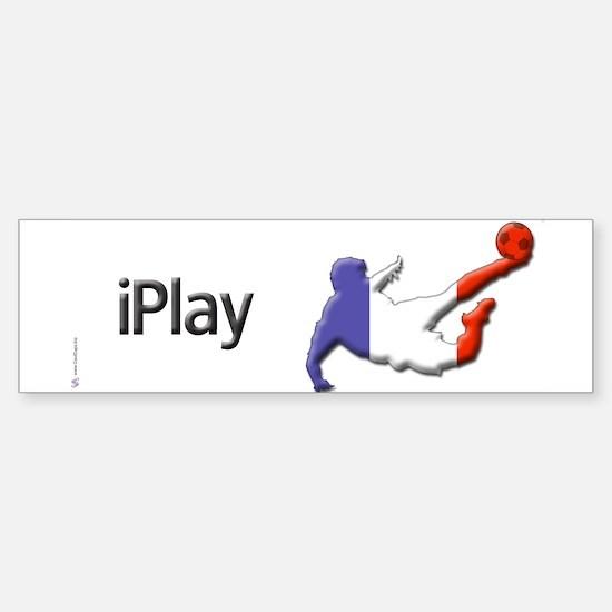 iPlay France Bumper Bumper Bumper Sticker