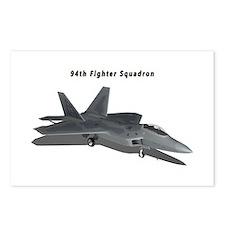 F-22A Raptor 94 FS Postcards (Package of 8)