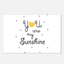 Cute Sunshine Postcards (Package of 8)