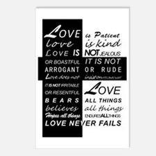 Love is Patient Postcards (Package of 8)