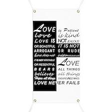Love is Patient Banner