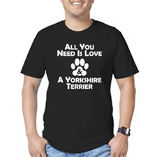 Love And A Yorkshire Terrier T-Shirt