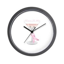 I Came to Win Wall Clock