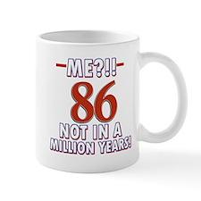 86 year old designs Mug