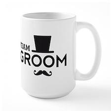 Team groom, hat and mustache Mugs