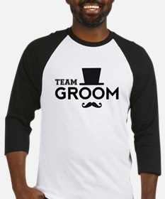 Team groom, hat and mustache Baseball Jersey