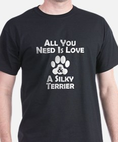 Love And A Silky Terrier T-Shirt