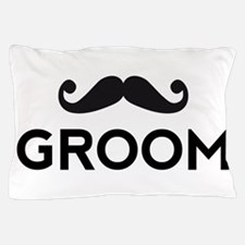 Groom mustache Pillow Case