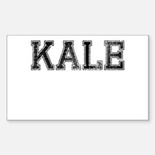KALE, Vintage Decal