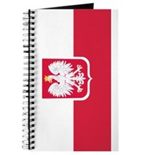 Polish Flag Coat of Arms Journal