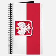 Polish Flag Coat of Arms Journal