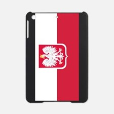 Polish Flag Coat of Arms iPad Mini Case