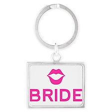 Bride pink lips Keychains