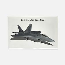 F-22A Raptor 94 FS Rectangle Magnet