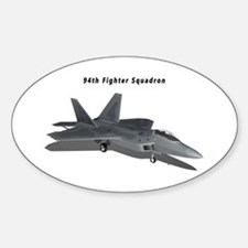 F-22A Raptor 94 FS Sticker (Oval)