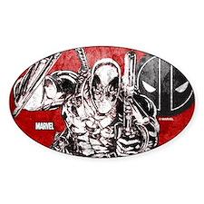 Deadpool Sketch Decal