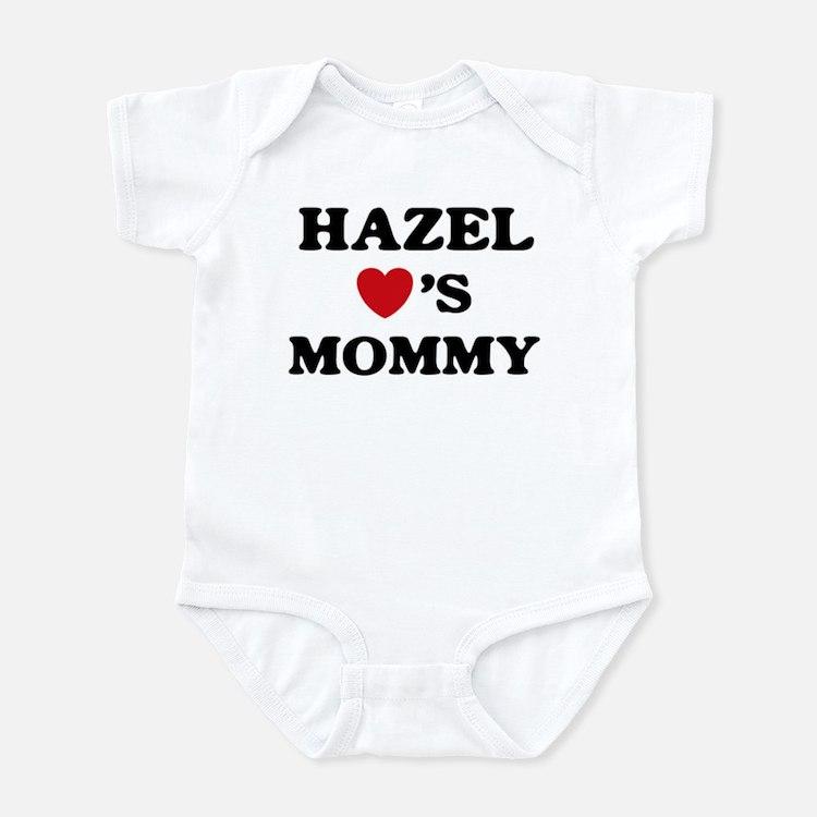 Hazel loves mommy Infant Bodysuit