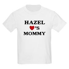 Hazel loves mommy T-Shirt