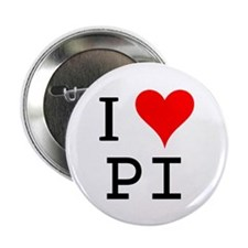 "I Love PI 2.25"" Button (100 pack)"