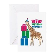 Big Birthday Wishes! Greeting Cards